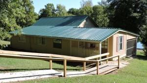 Caretaker's cabin looks good